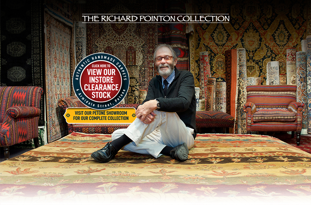 Richard Pointon Collection, Oriental Carpet and Persian Carpet Cearance Stock Sale